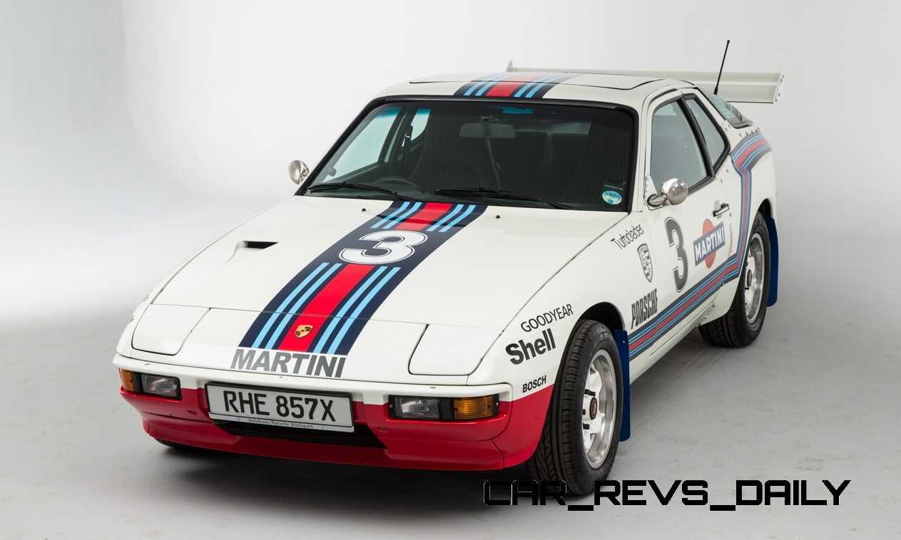 Pristine Porsche 924 Martini Rally Car Up For Grabs In New