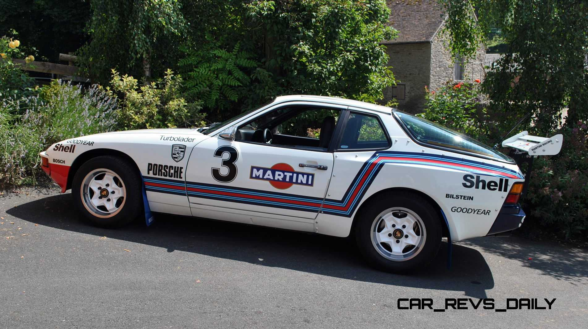 Pristine Porsche 924 Martini Rally Car Up For Grabs In New Uk Sweepstakes