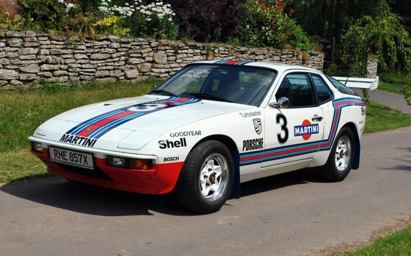 CCWin 1981 Porsche 924 Martini Rally Car 33