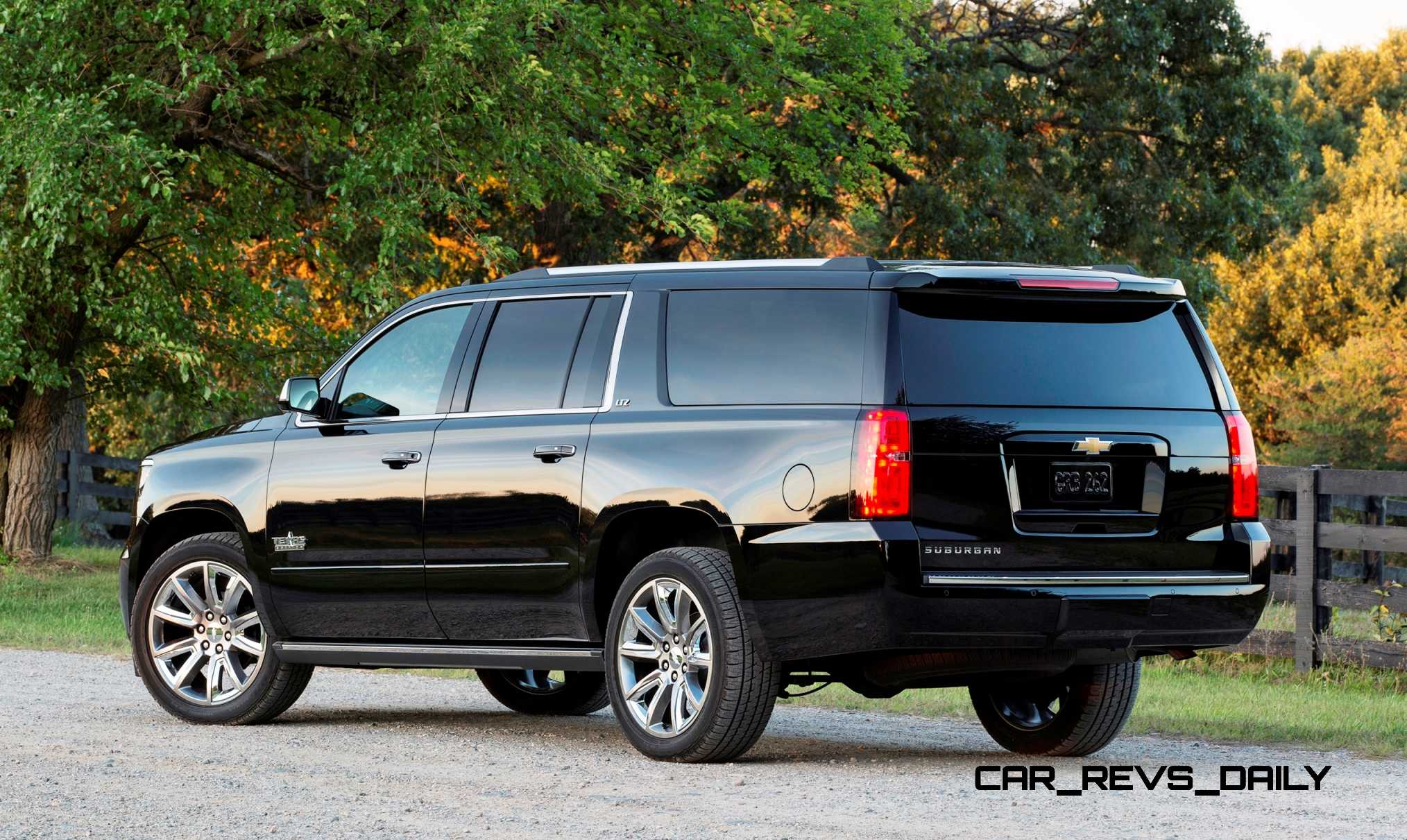 Chevy Introduces Suburban and Tahoe Texas Editions to Complement Silverado UT Special