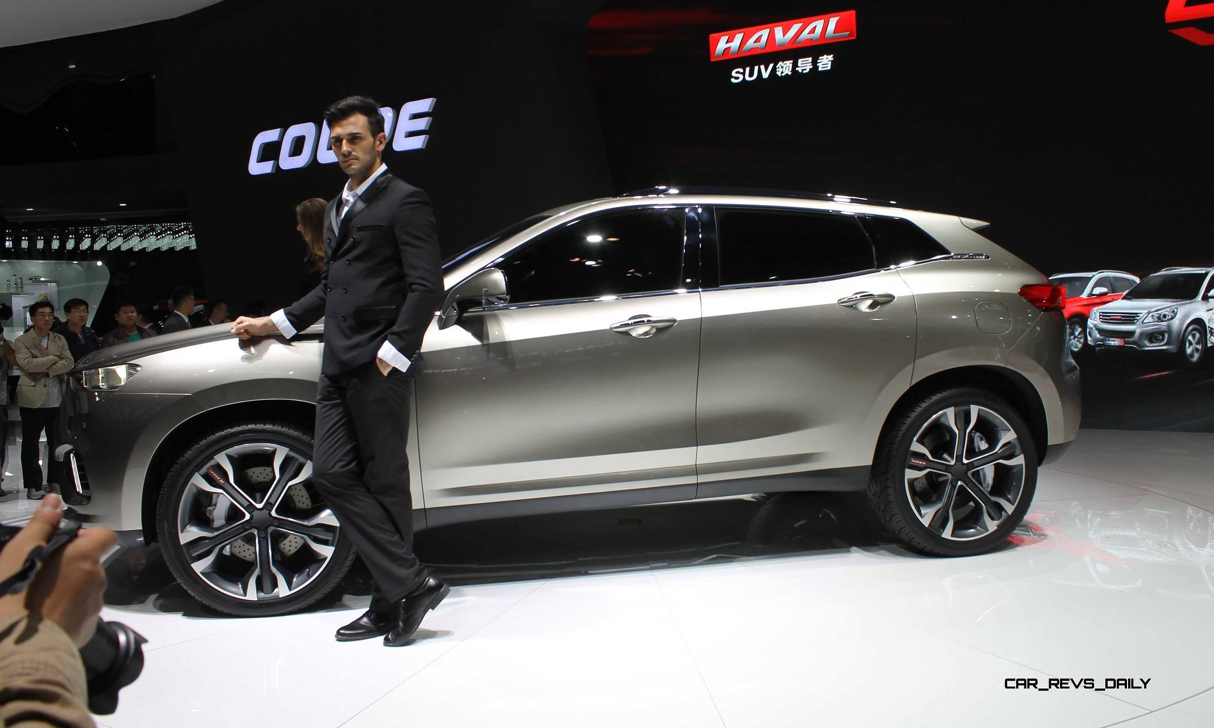 Chinese Market Suv And Crossover Concepts Acura Vs Mg