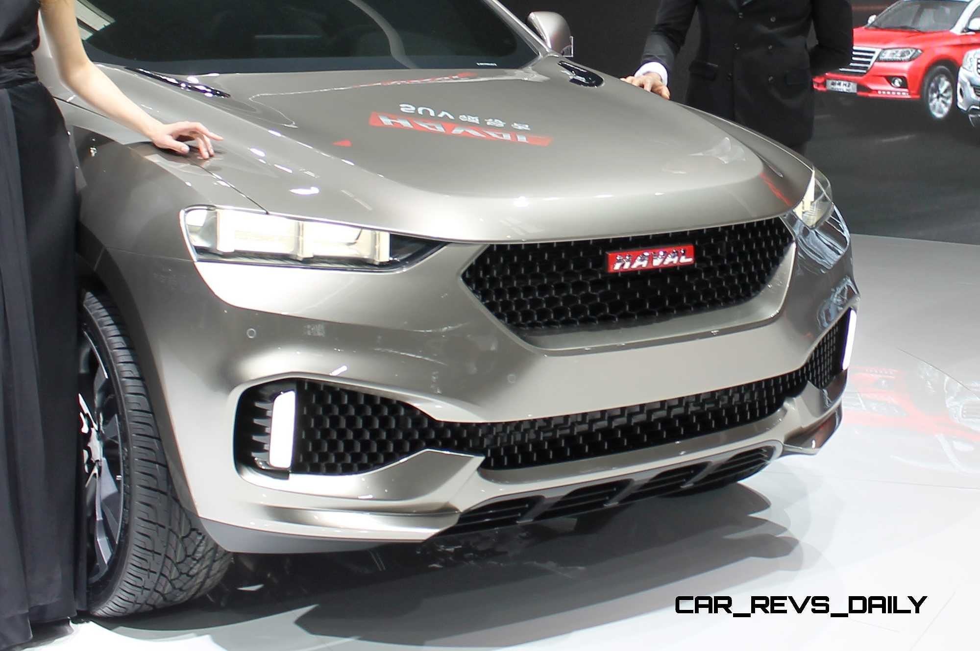 Toyota Suv Names >> Chinese-Market SUV and Crossover Concepts - Acura vs. MG vs. Chery vs. Haval vs. Changan