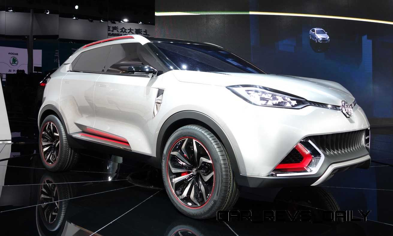Chinese-Market SUV and Crossover Concepts - Acura vs. MG ...