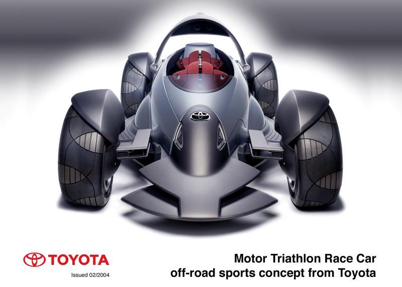 Concept Flashback - 2004 Toyota MTRC 7