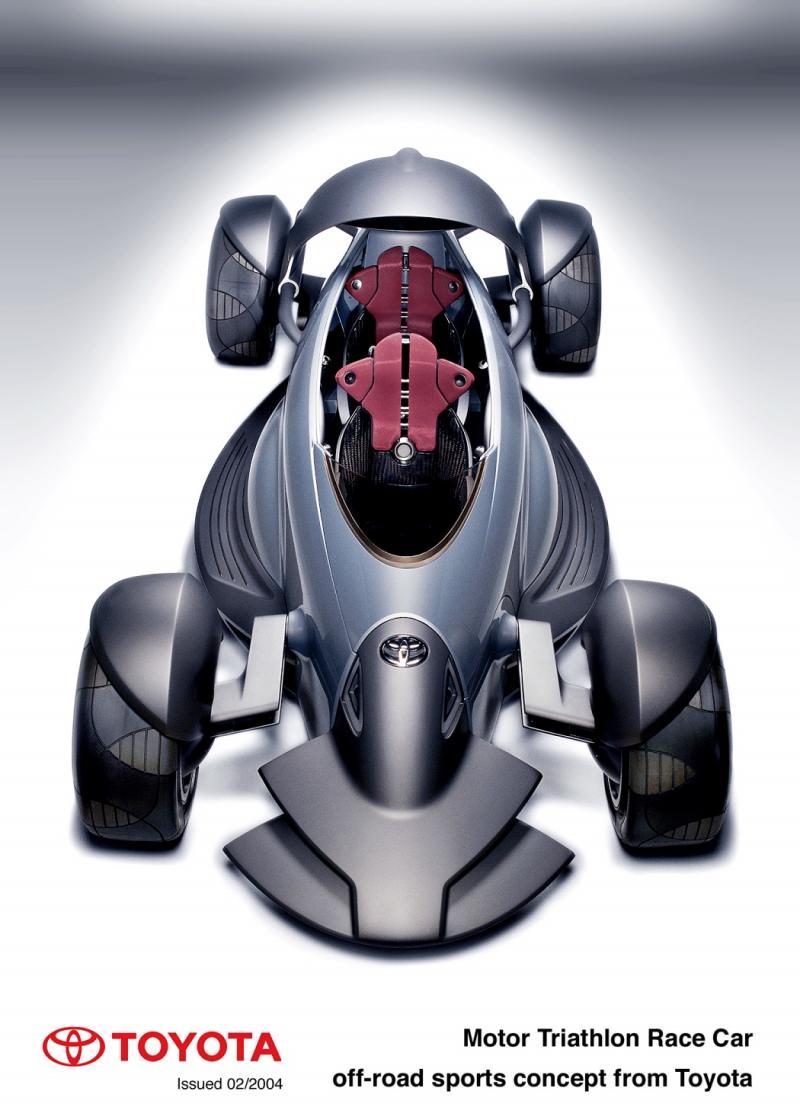 Concept Flashback - 2004 Toyota MTRC 8