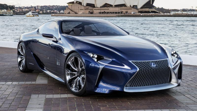 Concept Flashback - Lexus LF-LC in 77 High-Res Photos - Future LF-B 13