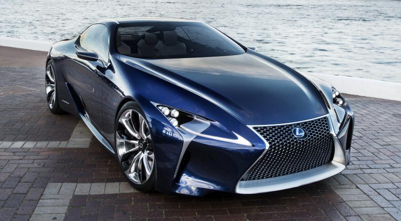 Concept Flashback - Lexus LF-LC in 77 High-Res Photos - Future LF-B 15