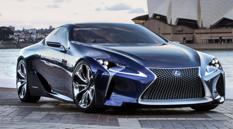 Concept Flashback - Lexus LF-LC in 77 High-Res Photos - Future LF-B 16
