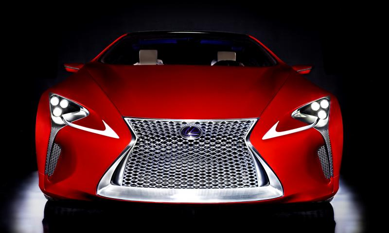 Concept Flashback - Lexus LF-LC in 77 High-Res Photos - Future LF-B 29
