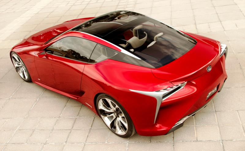 Concept Flashback - Lexus LF-LC in 77 High-Res Photos - Future LF-B 39