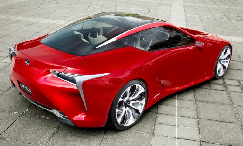 Concept Flashback - Lexus LF-LC in 77 High-Res Photos - Future LF-B 40