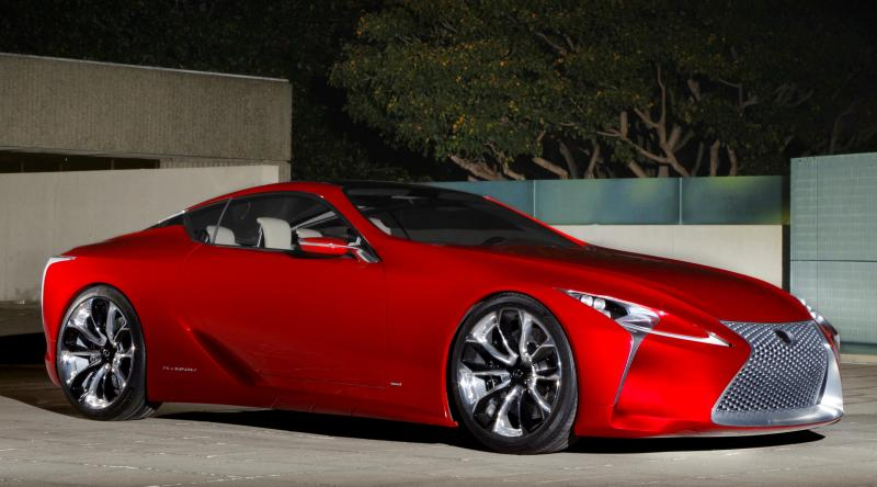 Concept Flashback - Lexus LF-LC in 77 High-Res Photos - Future LF-B 41
