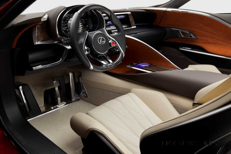 Concept Flashback - Lexus LF-LC in 77 High-Res Photos - Future LF-B 51
