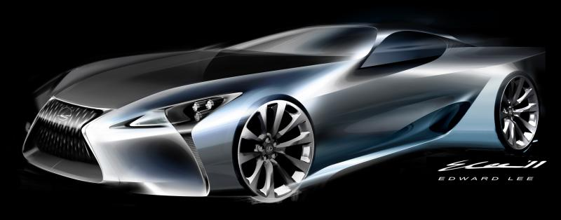 Concept Flashback - Lexus LF-LC in 77 High-Res Photos - Future LF-B 52