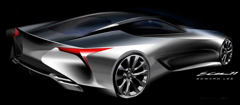 Concept Flashback - Lexus LF-LC in 77 High-Res Photos - Future LF-B 53