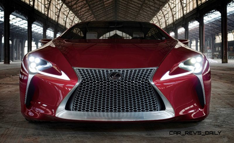 Concept Flashback - Lexus LF-LC in 77 High-Res Photos - Future LF-B 57