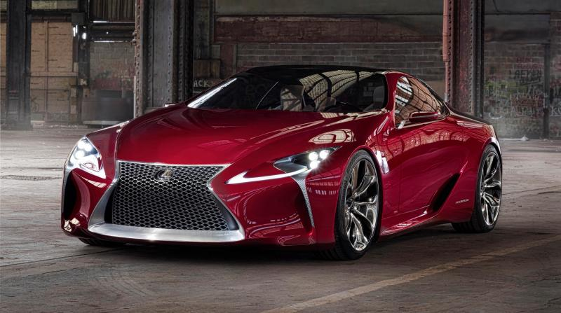 Concept Flashback - Lexus LF-LC in 77 High-Res Photos - Future LF-B 67