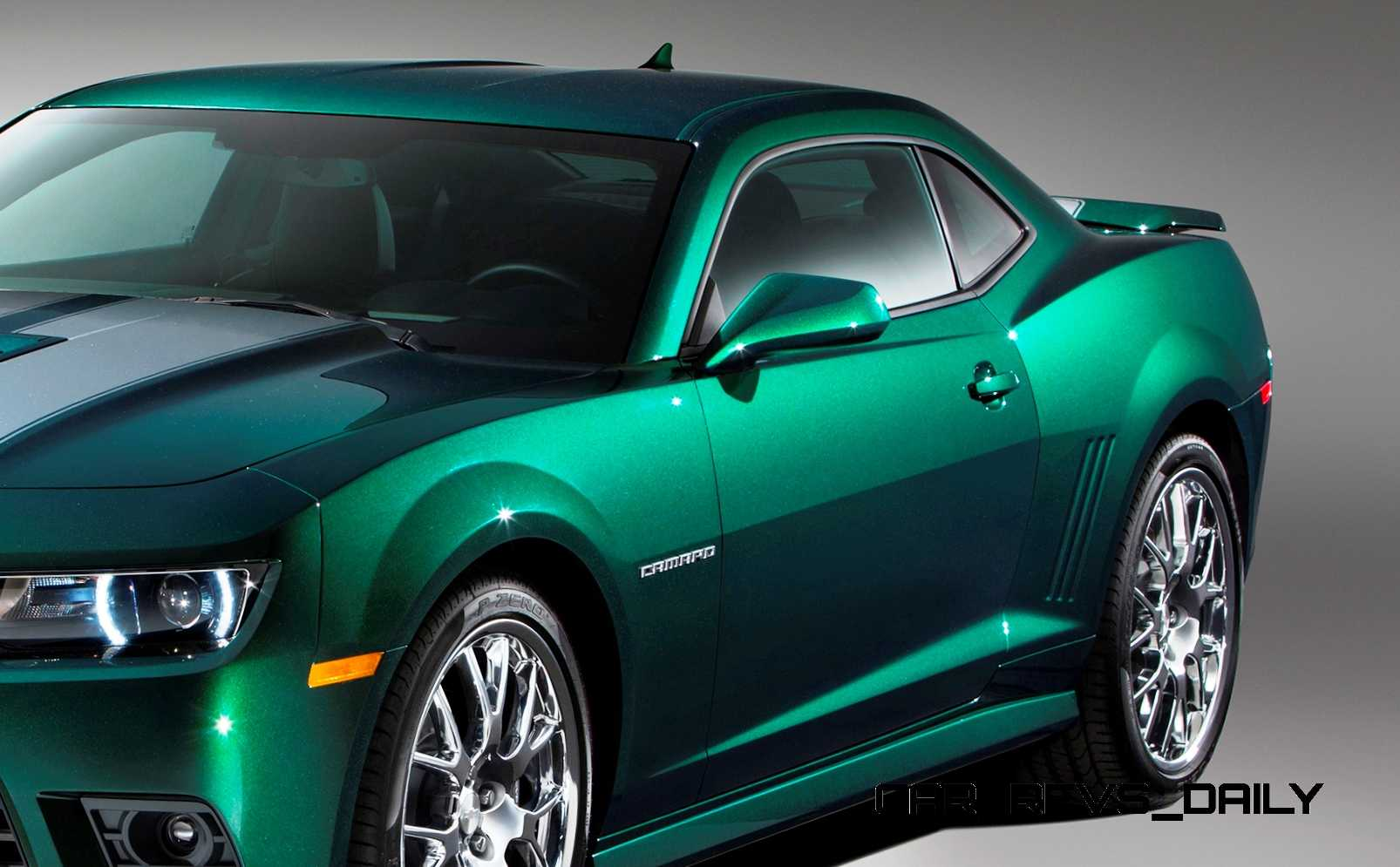 Namethatcamaro 2015 Chevrolet Camaro Ss Emerald Green