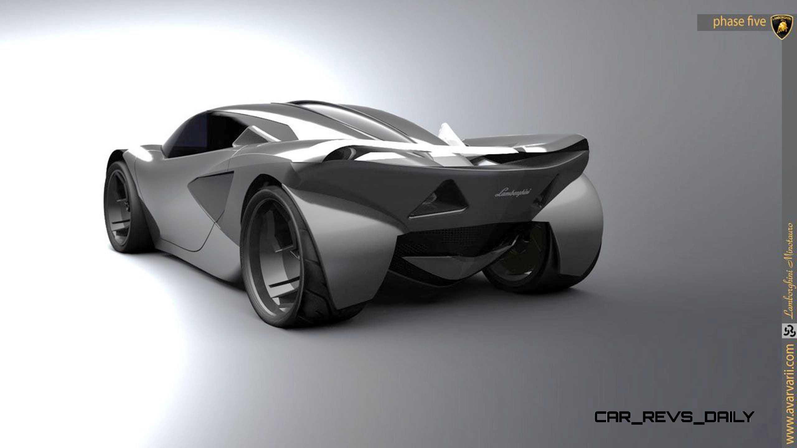 Design Talent Showcase Lamborghini Minotauro By Andrei