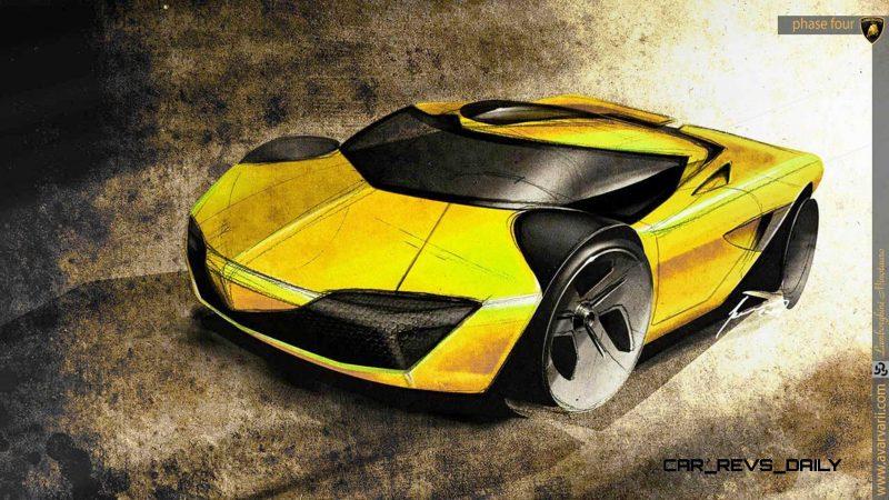 Design Talent Showcase - 2020 Lamborghini Minotauro by Andrei Avarvarii 25