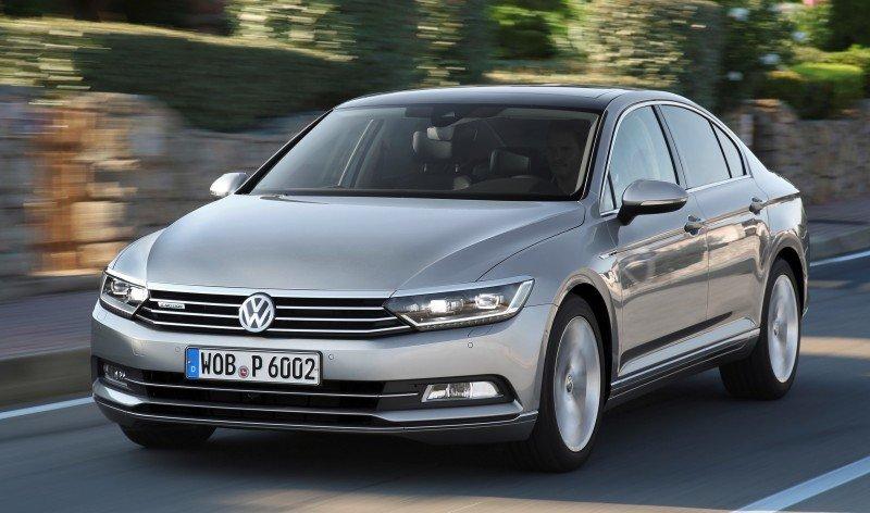 European 2015 Volkswagen Passat 1