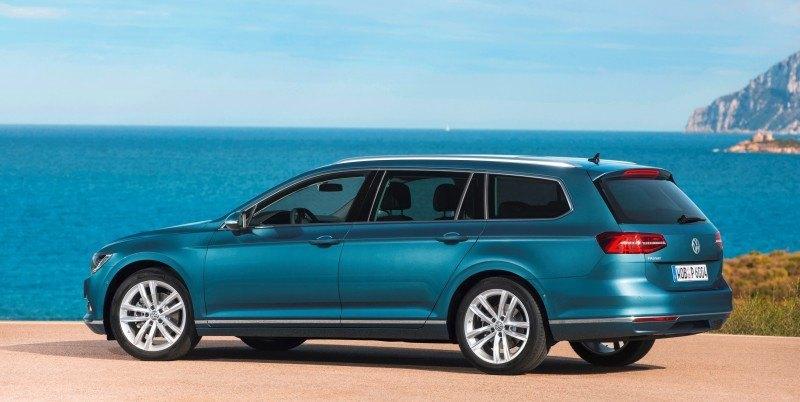 European 2015 Volkswagen Passat 10