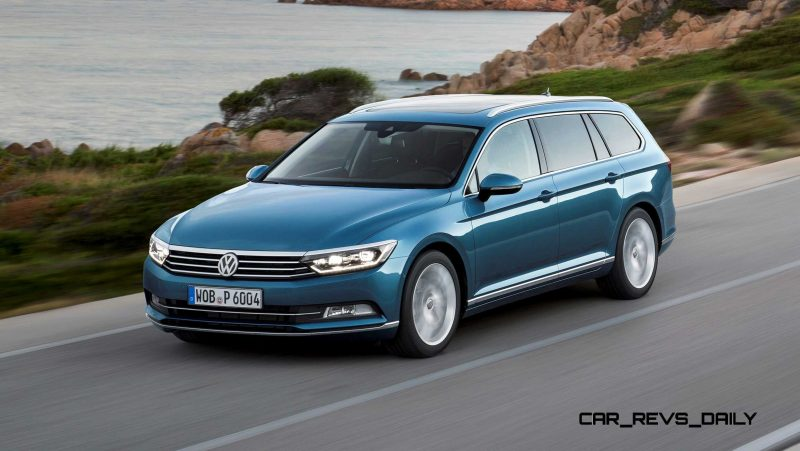 European 2015 Volkswagen Passat 11