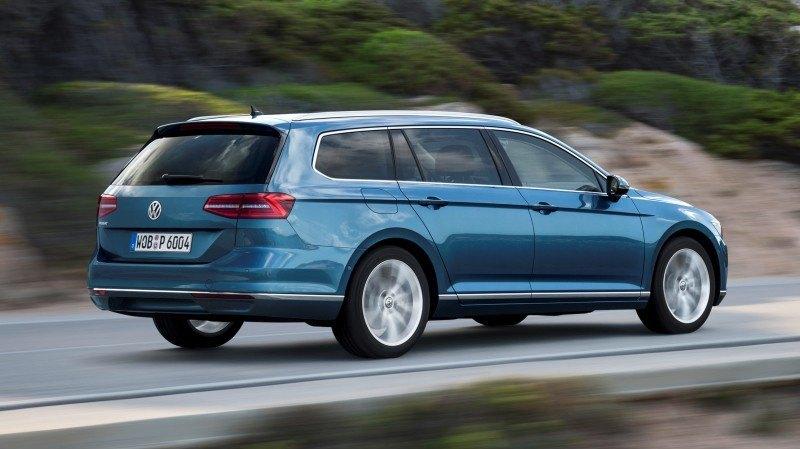 European 2015 Volkswagen Passat 12