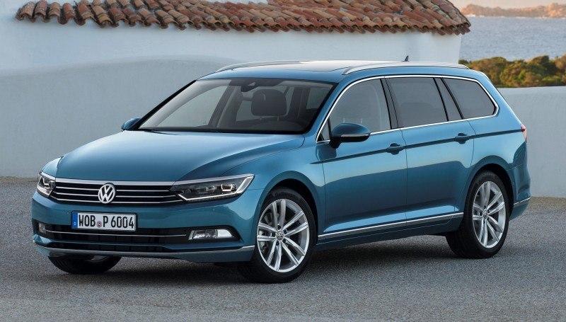 European 2015 Volkswagen Passat 13