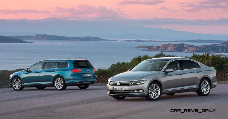 European 2015 Volkswagen Passat 15