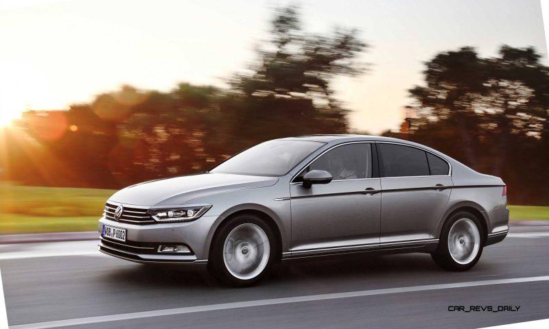 European 2015 Volkswagen Passat 17
