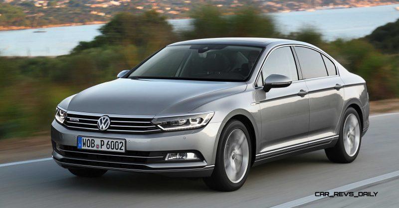 European 2015 Volkswagen Passat 22