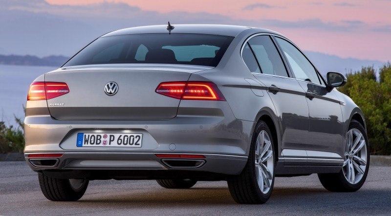 European 2015 Volkswagen Passat 4