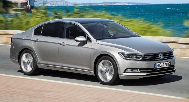 European 2015 Volkswagen Passat 5