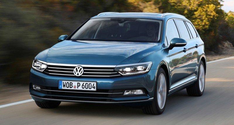 European 2015 Volkswagen Passat 6