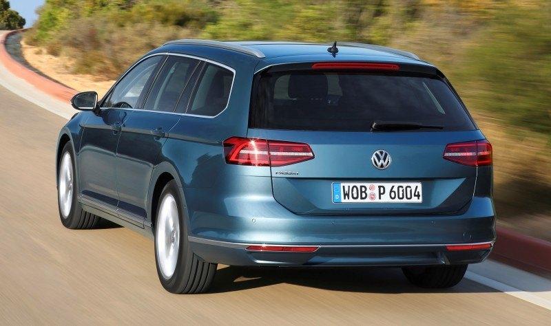 European 2015 Volkswagen Passat 7