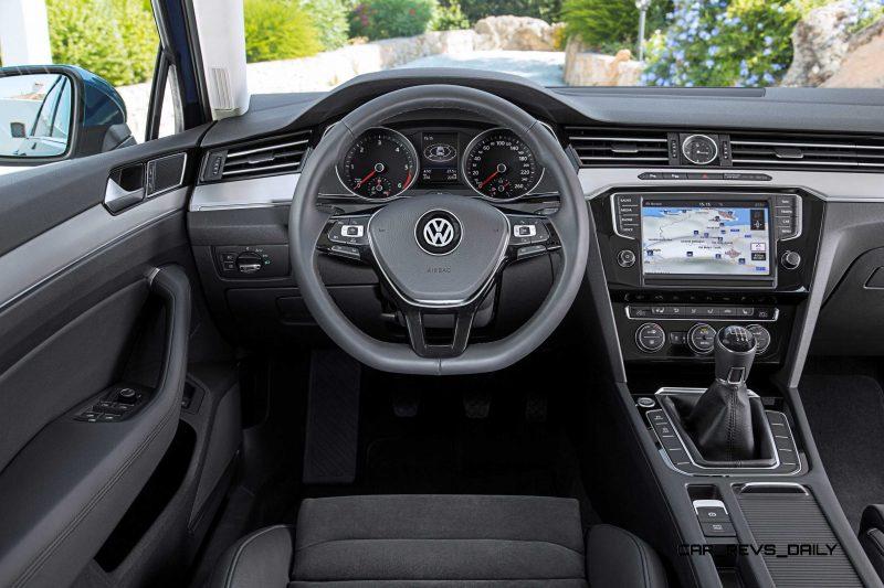 European 2015 Volkswagen Passat 8