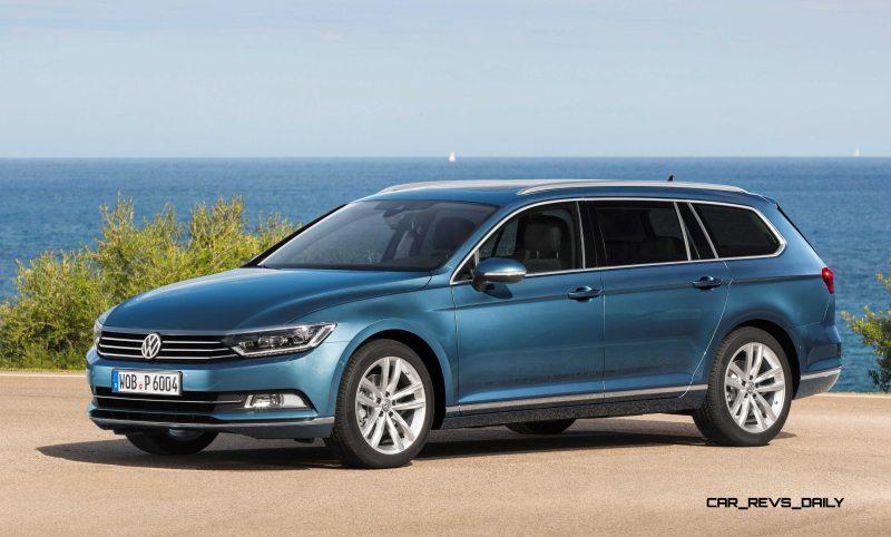 European 2015 Volkswagen Passat 9