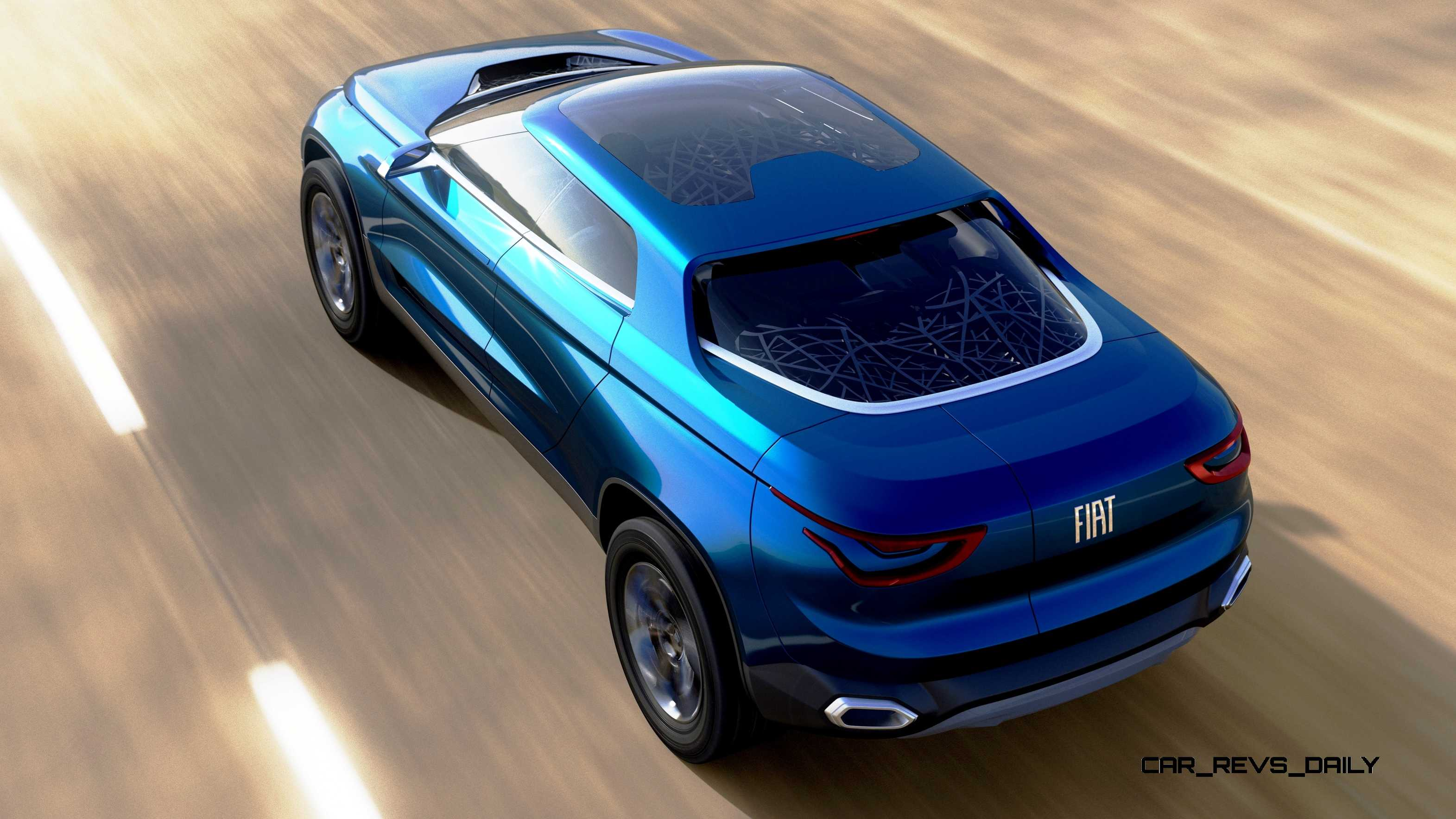 2014 Fiat Fcc4 Concept For Sao Paolo Is Samba Rambo Suv