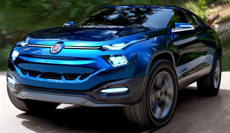 Bed Of A Truck >> 2014 Fiat FCC4 Concept For Sao Paolo Is Samba Rambo SUV ...