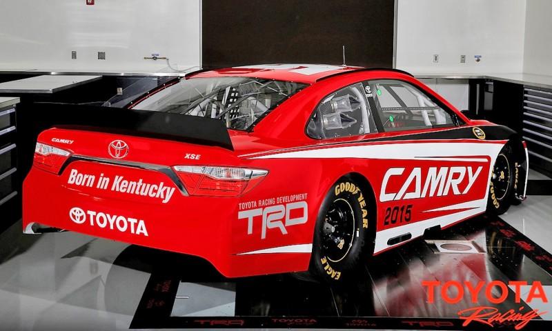 2015 NASCAR Sprint Cup Series Toyota Camry Race Car
