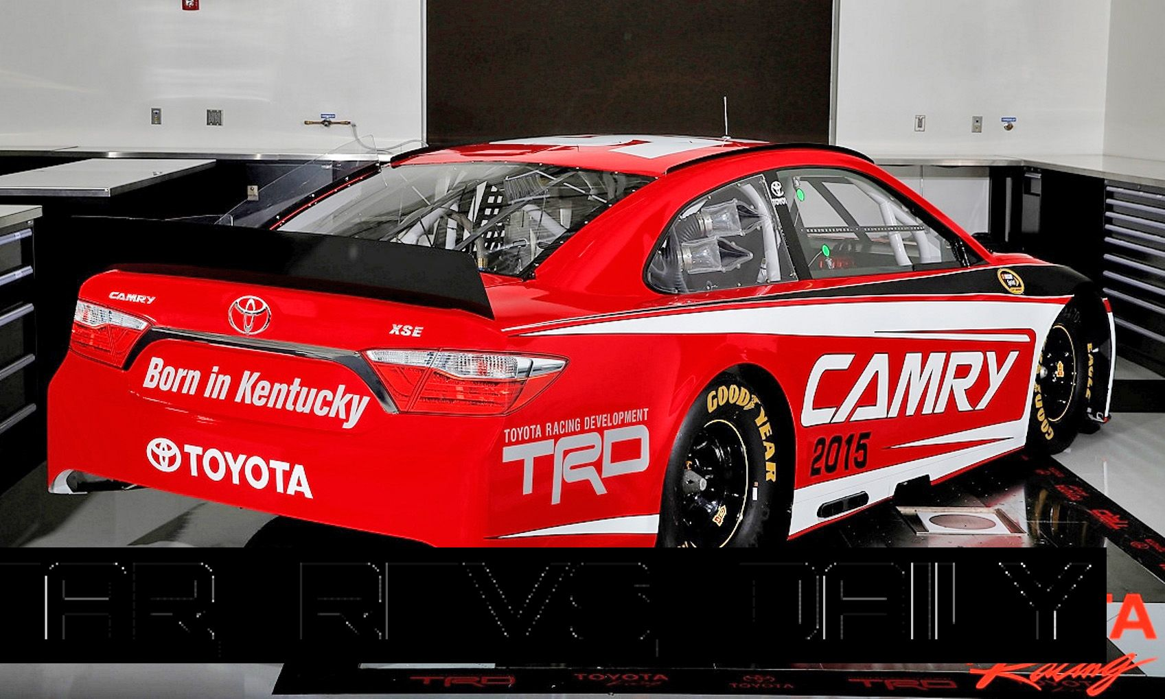 Gen-6 Toyota Camry NASCAR Revealed Ahead of 2015 Season