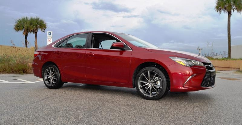 HD Road Test Review - 2015 Toyota Camry XSE 50