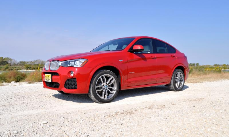 HD Video Review - 2015 BMW X4 xDrive35i M Sport 17
