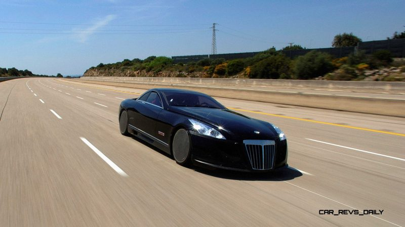 Hypercar Hall of Shame - 2005 MAYBACH Exelero 13