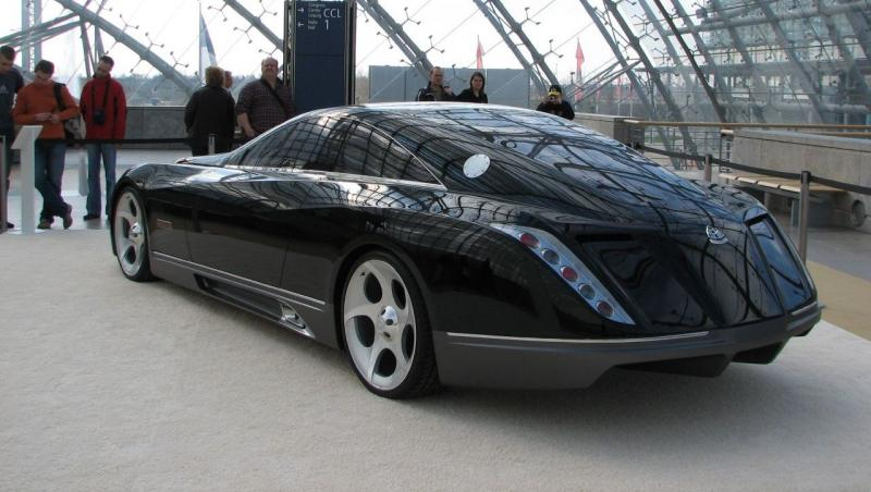 Hypercar Hall of Shame - 2005 MAYBACH Exelero 20