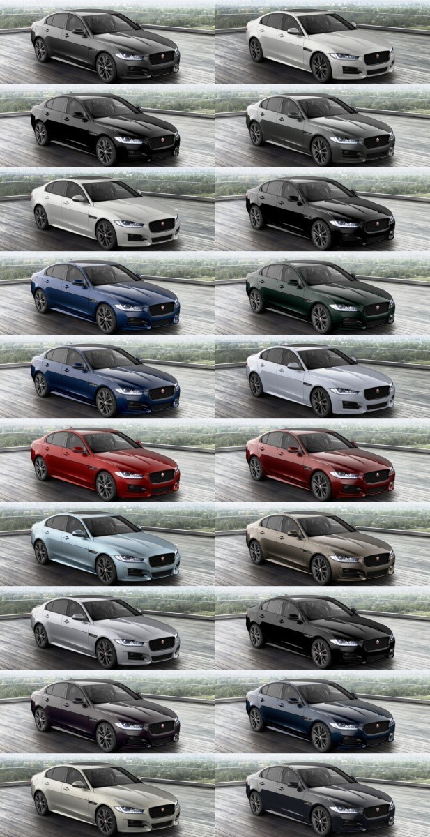 JAGUAR XE Configurator COLORS tile