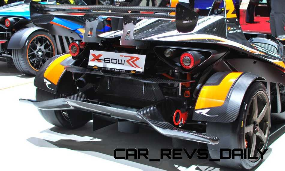 2015 KTM X-Bow RR Is 400HP of Race-Ready Speed With Full Track Upfit