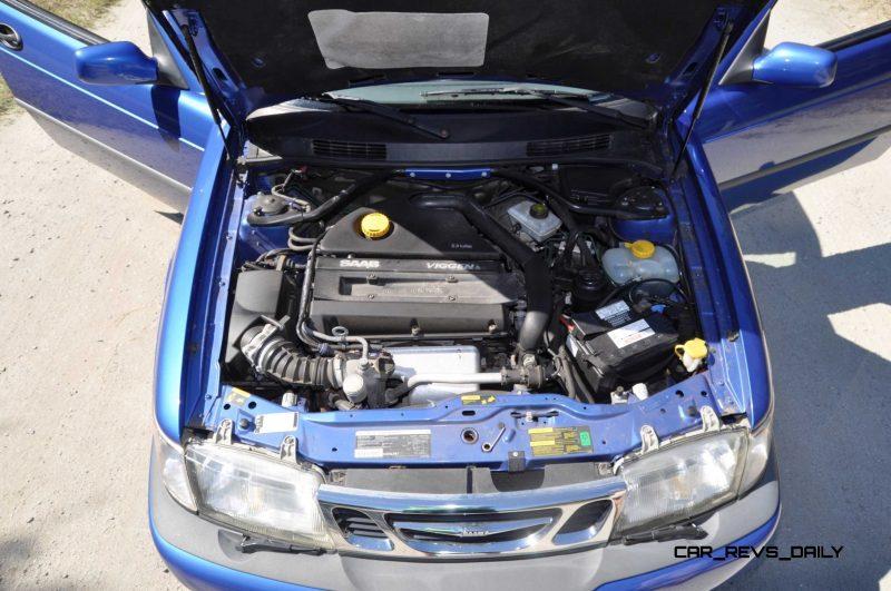 Len 1999 SAAB 9-3 Viggen 62
