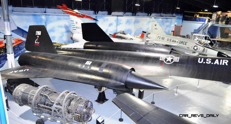 Lockheed SR-71A Blackbird 92